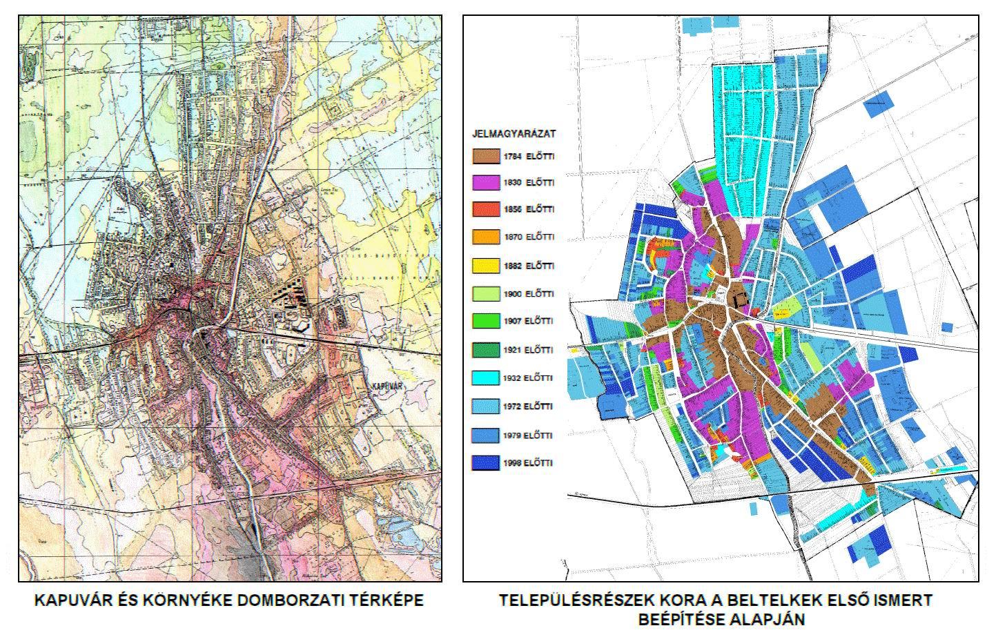 magyarország térkép kapuvár Észak dunántúli történeti településalaprajzok kutatása magyarország térkép kapuvár