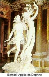 Bernini: Apollo és  Daphné